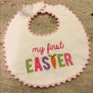 MudPie Mud Pie Baby My 1st First Easter Baby Bib